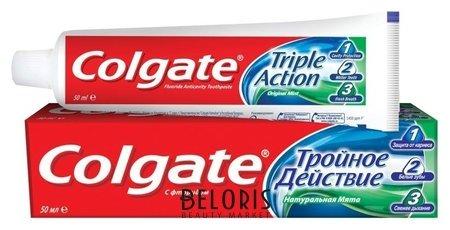 Зубная паста Тройное действие Colgate