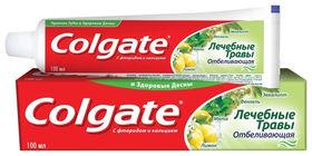 """Зубная паста """"Лечебные травы. Отбеливающая""""  Colgate"""