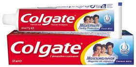 "Зубная паста ""Максимальная защита от кариеса. Свежая мята""  Colgate"