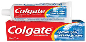 """Зубная паста """"Крепкие зубы. Свежее дыхание""""  Colgate"""