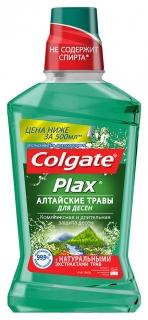 """Ополаскиватель для полости рта Plax """"Алтайские травы""""  Colgate"""