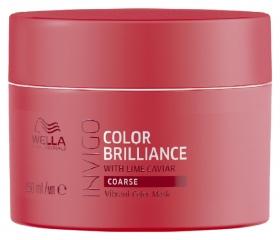 """Маска-уход для защиты цвета окрашенных жестких волос """"Color Brilliance""""  Wella"""