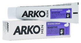 """Крем для бритья """"Sensitive""""  Arko"""