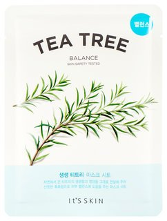 "Тканевая маска анти-акне ""The Fresh Tea Tree Mask Sheet"" чайное дерево  It's Skin"