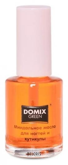 Масло миндальное для ногтей и кутикулы Domix Green Professional