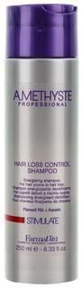 Шампунь против выпадения волос Amethyste stimulate shampoo  FarmaVita