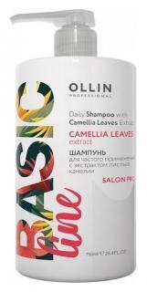 Шампунь для частого применения с экстрактом листьев камелии  OLLIN