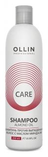 Шампунь для волос с маслом миндаля  OLLIN