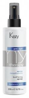 """Спрей для придания густоты с гиалуроновой кислотой """"Anti-age spray""""  Kezy"""