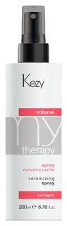 """Спрей для придания объема с морским коллагеном """"Volume spray""""  Kezy"""