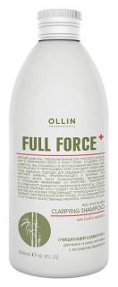 Очищающий шампунь для волос и кожи головы с экстрактом бамбука  OLLIN