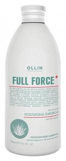 Увлажняющий шампунь против перхоти с экстрактом алоэ  OLLIN
