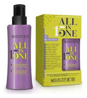 Маска-спрей 15 в 1 для всех типов волос  Selective