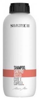 "Шампунь ""Красный можжевельник"" Shampoo Ginepro Rosso Cute E Capelli  Selective"