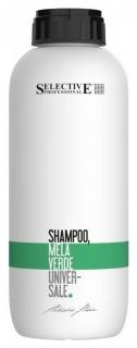 """Шампунь для всех типов волос """"Зелёное яблоко"""" Shampoo Mela Verde  Selective"""