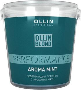 Осветляющий порошок с ароматом мяты  OLLIN