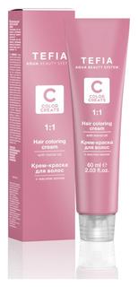 Крем-краска для волос с маслом монои Color Creats  Tefia