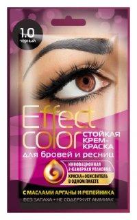 """Стойкая крем-краска для бровей и ресниц """"Effect color""""  Фитокосметик"""