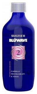 """Состав на основе протеинов кератина для окрашенных и поврежденных волос """"Blue Wave 2""""  Selective"""
