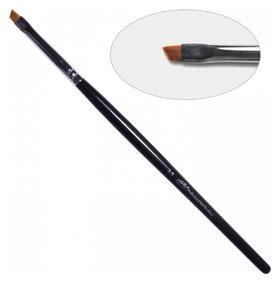 4D. Кисть для дизайна скошенная 2-s, нейлон Nail Art Brush slant 2-s, nylon  PNB