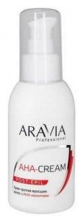 Крем против вросших волос с АНА кислотами  Aravia Professional