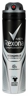 """Дезодорант-спрей для мужчин """"Невидимый"""" для черного и белого  Rexona"""