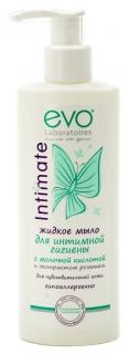 Жидкое мыло для интимной гигиены для чувствительной кожи  EVO laboratoires