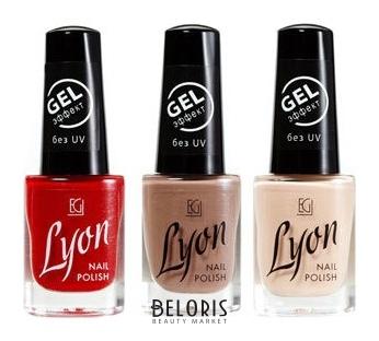 Лак для ногтей Lyon GEL Effect Elian Group