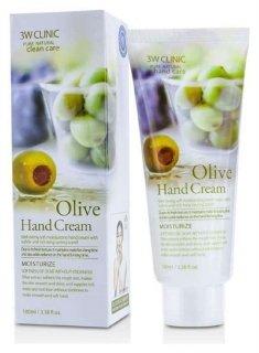 Крем для рук с оливой  3W CLINIC