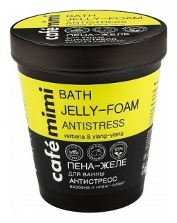 "Пена-желе для ванны ""Антистресс""  Кафе красоты"