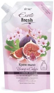 Крем-мыло инжир и сакура   Белита - Витекс