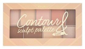 "Палетка для макияжа ""Contour&sculpt palette light""  RUBY ROSE"