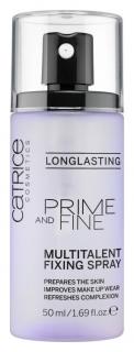 "Фиксирующий спрей для макияжа ""Prime and fine multitalent fixing spray""  Catrice"
