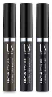 Тушь для бровей цветная Brow Styler Sculpting Color Mascara  LN Professional