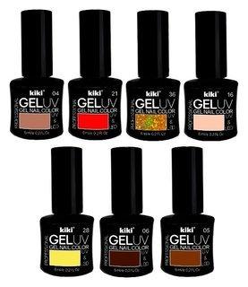 Гель-лак для ногтей Gel UV&LED  Kiki