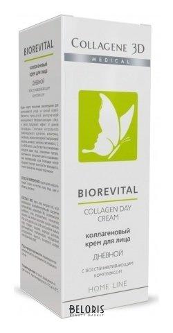 Основа для лица Medical Collagene 3D Крем для лица Biorevital Дневной