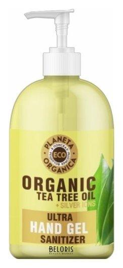 Универсальный гель для рук с маслом чайного дерева Планета Органика ECO