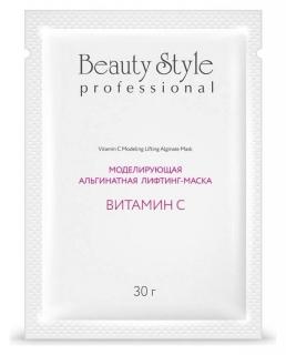 Моделирующая альгинатная лифтинг-маска с витамином C  Beauty Style