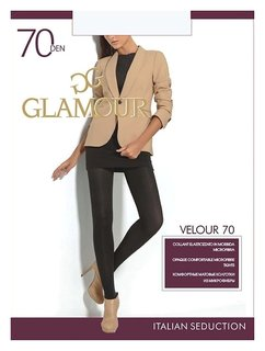 Колготки женские Velour 70 Den  Glamour