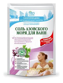 Успокаивающая соль для ванн азовского моря  Фитокосметик