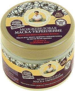 Можжевеловая укрепляющая маска для волос против выпадения  Рецепты бабушки Агафьи