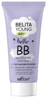 BB-крем для лица Эксперт матовости кожи для нормальной и жирной кожи  Белита - Витекс