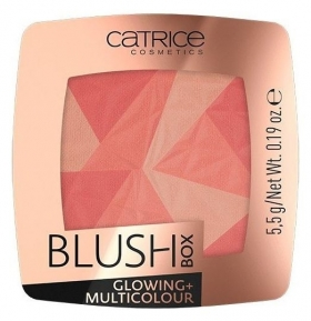 Румяна Blush Box Glowing + Multicolour  Catrice