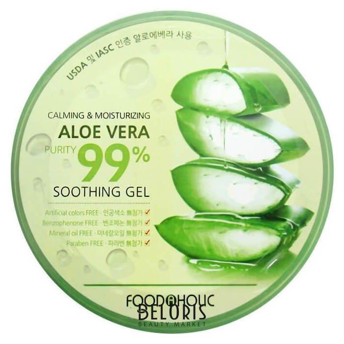 Купить Гель для лица FoodaHolic, Гель универсальный с алоэ Calming Moisturizing Aloe Vera Soothing Gel, Южная Корея