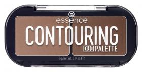 """Палетка для контурирования 2 в 1 """"Contouring Duo Palette""""  Essence"""