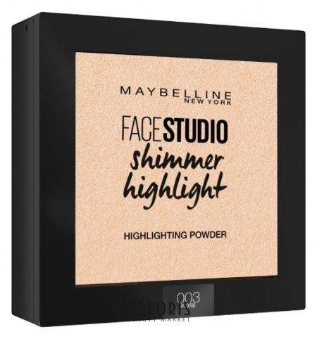 Хайлайтер для лица Face studio Shimmer Highlight Maybelline