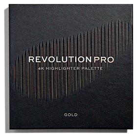 """Хайлайтер для лица """"4K Highlighter Palette""""  Revolution PRO"""