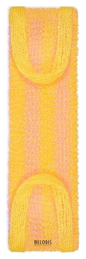 Купить Мочалка для тела VIVAL, Мочалка массажная длинная с вертикальной полосой, Россия