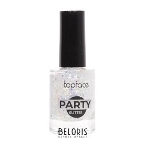 Лак для ногтей Party Glitter Nail (TopFace) купить в Интернет-магазине косметики