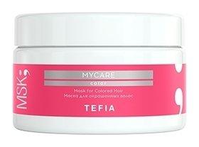 Маска для окрашенных волос  Tefia